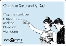 Steak And Bj Meme - steak and blow job day photos superepus news