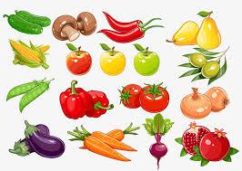 imagenes gratis de frutas y verduras vector pintado de frutas y verduras frutas verduras pintado a