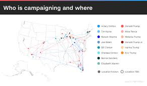 Americas Mood Map by Political Maps Maps Of Political Trends U0026 Election Results