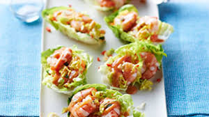 canapes with prawns prawn cocktail canapes food channel