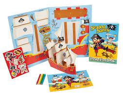 sale pirate craft activity pack for kids seadog sam
