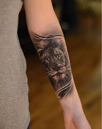 25 gorgeous lion forearm tattoos ideas on pinterest tiger