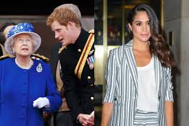 harry and meghan markle did prince harry and the queen encourage meghan markle to shut
