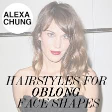 best hairstyle for oblong face shape hairstyles
