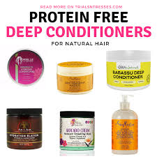 protein free deep conditioners for natural hair trials n tresses