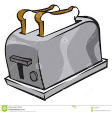 Burning Toaster 13 Toaster Vector Graphic Images Toaster Clip Art Black And