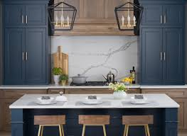 blue bottom and white top kitchen cabinets 75 beautiful blue kitchen cabinets pictures ideas houzz