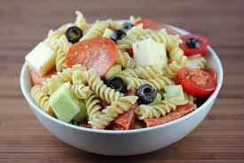 Pasta Salad Recipes With Italian Dressing Pepperoni Pasta Salad Recipe Blogchef Net