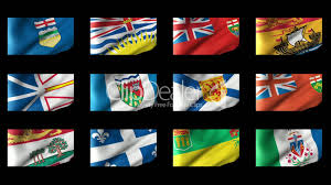 Saskatchewan Flag Canadian States Flag Waving Royalty Free Video And Stock Footage