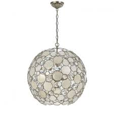 Sphere Chandelier With Crystals Welles Chandelier Small Ceiling Fan Light Sphere Home