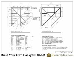 How To Design Your Own Shed Plans by 10x10 5 Sided Corner Shed Plans