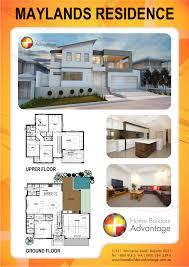 two story custom home design modern style skillion elevation