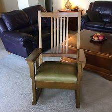 Mission Style Rocking Chair Mission Rocking Chair Ebay