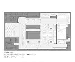 Public Library Floor Plan by Gallery Of New York Library Ten Arquitectos 10 Modern Library