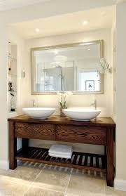 bathroom basin ideas new rustic chunky solid wood bathroom sink vanity unit handmade