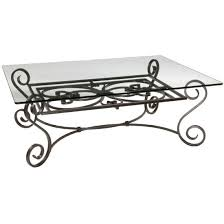 wrought iron coffee table with glass top 112 best wrought iron tables images on pinterest iron furniture
