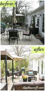 outdoor patio makeover diy patio makeover organicoyenforma
