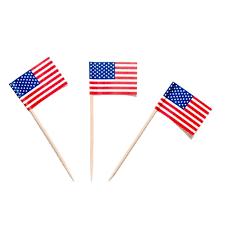 Flags American Sandwich Flags