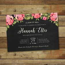 card invitation ideas custom graduation invitation card template