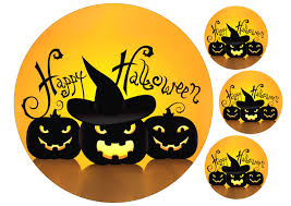 Halloween Cake Decorations Edible Images Of Edible Halloween Cake Toppers Buy Halloween Edible