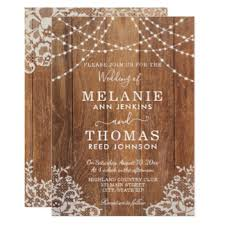 country wedding invitations announcements zazzle canada