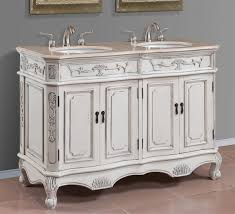 50 inch double sink vanity amusing design of bathroom vanity with rectangle shape blue color