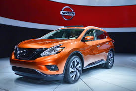 suv nissan 2015 murano is the sexiest nissan yet live photos autoevolution