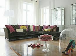 coussin canapé gris meubles design canape design roche bobois noir coussins salon