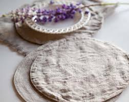 Placemats For Round Table Round Placemat Etsy