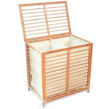 wood tilt out laundry hamper laundry room gorgeous bamboo laundry basket uk room decor bamboo