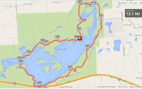 Marathon Route Map by Half Marathon Course 13 1 U2013 Kensington Marathon