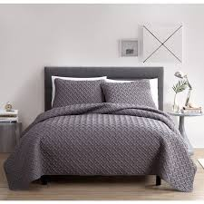 vcny embossed 3 quilt set on sale free shipping on