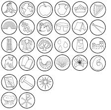 tree symbols crafts tree ornaments