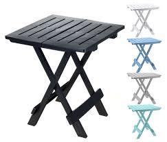 beistelltische zusammenklappbar kunststoff gartentisch klappbar 5 farben kleiner campingtisch