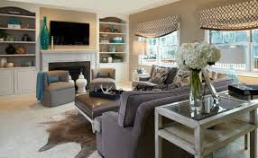Fascinating Turquoise Decorating Ideas Eclectic Family Room Grey - Decor ideas for family room