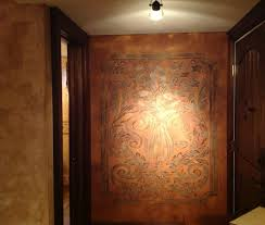 leather walls decorating with leather walls rukle feature wall i faux upholstered
