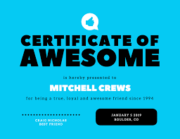 Participation Certificate Templates Free Download Free Online Certificate Maker Design A Custom Certificate Canva