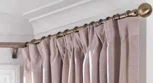 Fitting Curtain Track Swish Belgravia Metal Curtain Pole For Three Sided Bay Windows