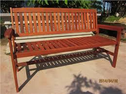 hardwood wooden garden storage bench 2 and 3 seater wood bench
