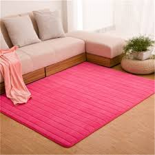 Thick Bathroom Rugs Ultra Soft Thick Memory Foam Absorbent Coral Fleece Fabric Area