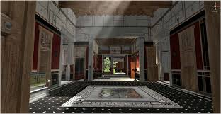 take a virtual tour of a wealthy pompeii home before the volcano