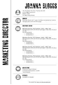 resume template on microsoft word resume template ms word
