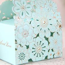 butterfly favor boxes 2016 blue lace butterfly laser cut wedding favor boxes wedding
