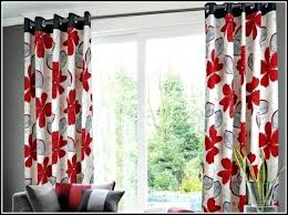 Black Floral Curtains And Gray Curtain Venkatweetz Me