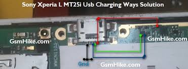 l with usb charger sony xperia l mt25i usb charging ways solution gsmhike