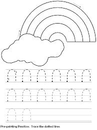 preschool printing practice