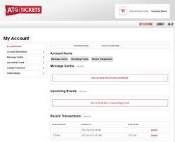logging in u0026 using my account customer service u0026 faqs atg tickets