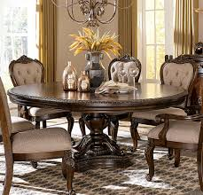 76 inch round dining table homelegance bonaventure park round oval pedestal dining table with