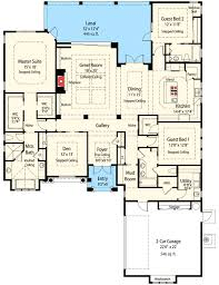 one story mediterranean house plans energy smart single story house plan 33062zr architectural