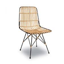 chaise en beau chaise en rotin décoration française
